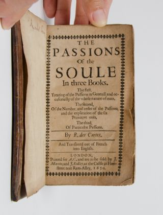 The Passions of the Soule in three books.