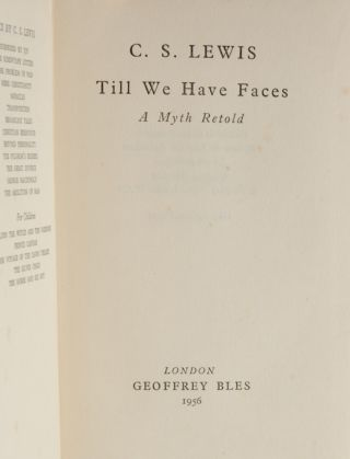 Image 6 of 6 for Till We Have Faces (Association copy