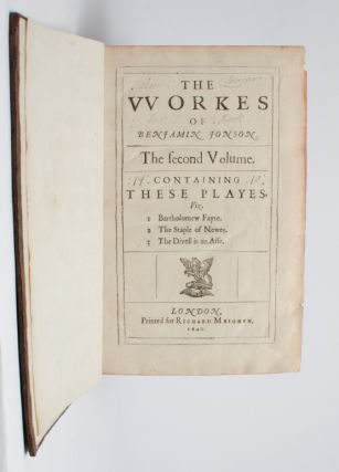 Image 6 of 6 for The Workes of Benjamin Jonson. [together with] The Workes of Benjamin Jonson....