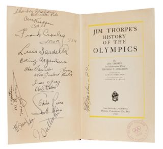 Image 1 of 5 for Jim Thorpe's History of the Olympics (Signed by author and athletes