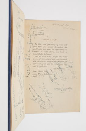Image 4 of 5 for Jim Thorpe's History of the Olympics (Signed by author and athletes