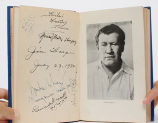 Image 5 of 5 for Jim Thorpe's History of the Olympics (Signed by author and athletes