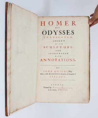 Image 6 of 9 for Homer his Odysses translated, adorn'd with sculpture, and illustrated with...