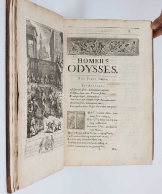 Image 8 of 9 for Homer his Odysses translated, adorn'd with sculpture, and illustrated with...