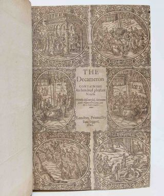 Image 3 of 9 for The Decameron Containing an hundred pleasant novels. Wittily discoursed, between...