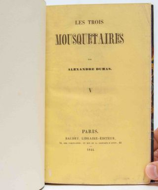 Les Trois Mousquetaires [The Three Musketeers]