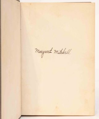 Image 6 of 9 for Gone with the Wind (Signed First Edition
