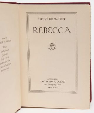 Image 5 of 8 for Rebecca (Signed First Edition