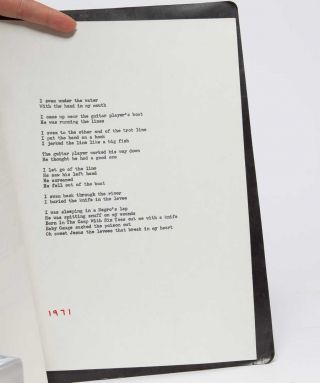 Typed Manuscript for The Singing Knives (MS)