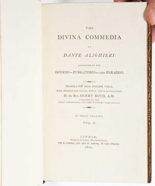 Image 7 of 9 for The Divina Commedia of Dante Alighieri, Consisting of the Inferno - Purgatorio -...