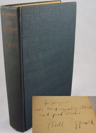Image 1 of 1 for FLAPPERS AND PHILOSOPHERS (INSCRIBED FIRST EDITION