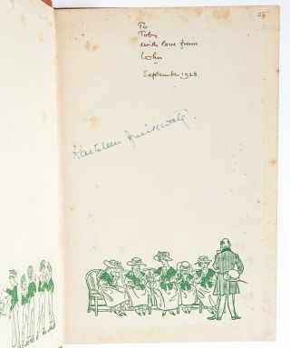 Image 6 of 8 for Small archive of 10 books inscribed for his wife and also signed by her
