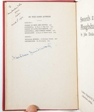 Image 7 of 8 for Small archive of 10 books inscribed for his wife and also signed by her