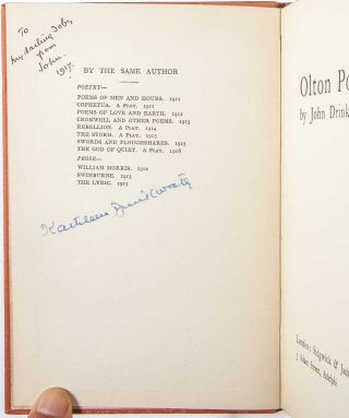 Small archive of 10 books inscribed for his wife and also signed by her.