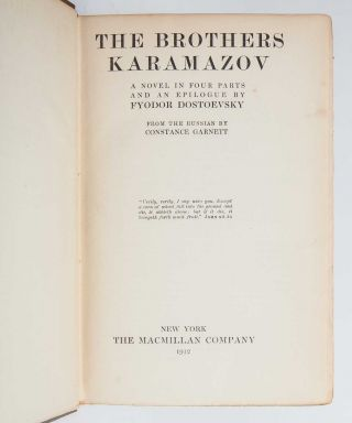Image 3 of 8 for The Brothers Karamazov