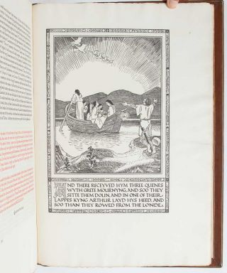 Image 8 of 9 for The Noble and Joyous Book entytled Le Morte d'Arthur