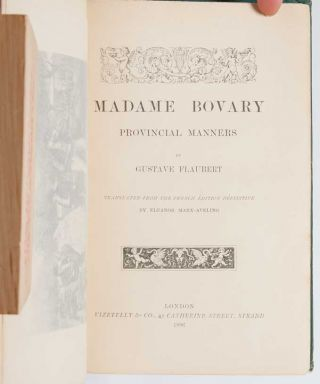 Image 5 of 8 for Madame Bovary