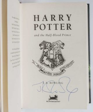 Harry Potter and the Half-Blood Prince (Signed First Edition)