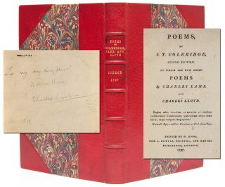 Image 1 of 7 for Poems by S. T. Coleridge, Second Edition. To Which are Added Poems by Charles...
