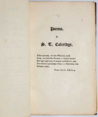 Image 5 of 7 for Poems by S. T. Coleridge, Second Edition. To Which are Added Poems by Charles...