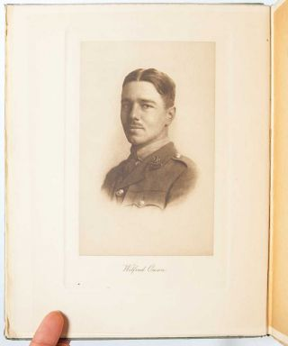 "Signed letter from the American publisher of his book ""Poems by Wilfred Owen."""