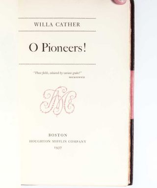 Image 4 of 4 for The Novels and Stories of Willa Cather: Autograph Edition