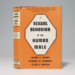 Image 1 of 3 for Sexual Behavior in the Human Male (Signed First Edition