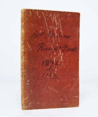 Image 5 of 5 for Receipt Book, 1874…1883, 1885