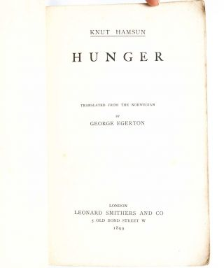 Image 4 of 6 for Hunger