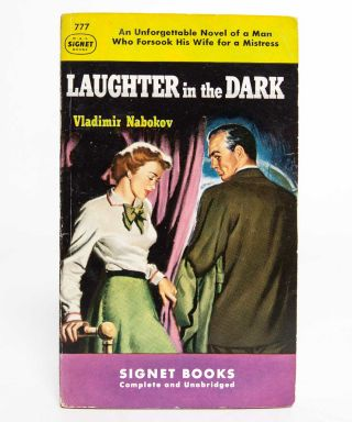 Image 2 of 6 for Laughter in the Dark (Signed Association copy