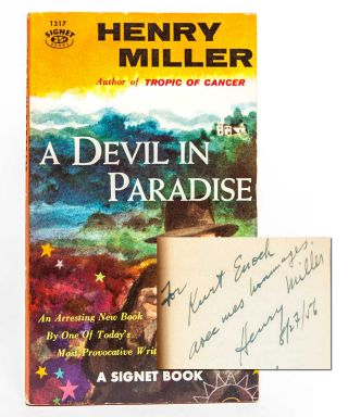 A Devil in Paradise (Presentation copy)
