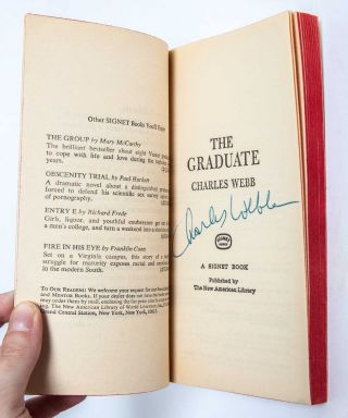 The Graduate (Signed association copy)
