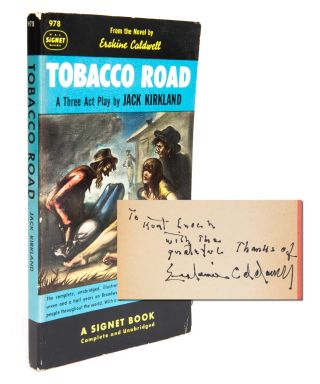 Image 1 of 5 for Tobacco Road: A Three Act Play (Presentation Copy