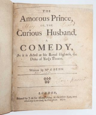 Image 3 of 8 for The Amorous Prince, or The Curious Husband. A Comedy