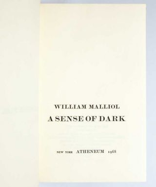 Image 6 of 8 for A Sense of Dark (Inscribed by Kerouac