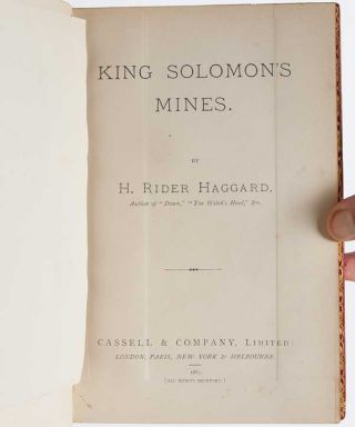 Image 5 of 7 for King Solomon's Mines