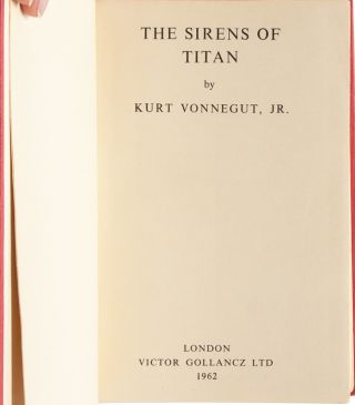 Image 6 of 8 for Sirens of Titan (Inscribed first edition