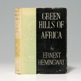 Image 2 of 3 for Green Hills of Africa (Inscribed first edition