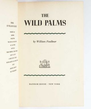 The Wild Palms (Signed Limited)