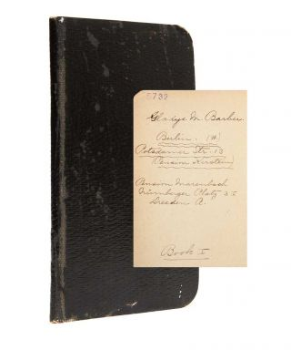 Image 1 of 11 for 1908 Travel Diary of an American woman college graduate, documenting her...