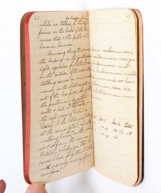 Image 10 of 11 for 1908 Travel Diary of an American woman college graduate, documenting her...
