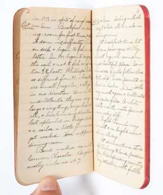 Image 5 of 11 for 1908 Travel Diary of an American woman college graduate, documenting her...