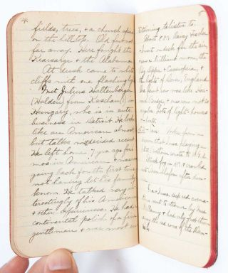 Image 6 of 11 for 1908 Travel Diary of an American woman college graduate, documenting her...