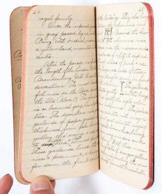Image 9 of 11 for 1908 Travel Diary of an American woman college graduate, documenting her...