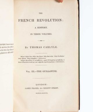 The French Revolution. A History