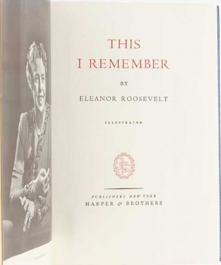 This I Remember (Signed Limited Edition)