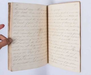 Commonplace book of a young Regency Era Englishwoman, reflecting on the importance of education, curiosity, and reading in the age of Jane Austen