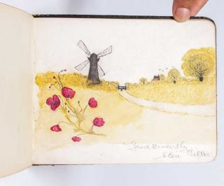 Image 6 of 7 for Literary and artistic commonplace book of a young British woman in the years...