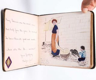 Image 7 of 7 for Literary and artistic commonplace book of a young British woman in the years...