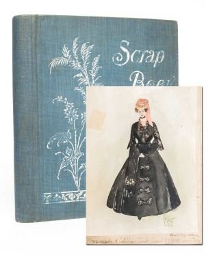 Image 1 of 6 for Commonplace Book of teenage artist Ethel Shearer, compiled before she rose to...